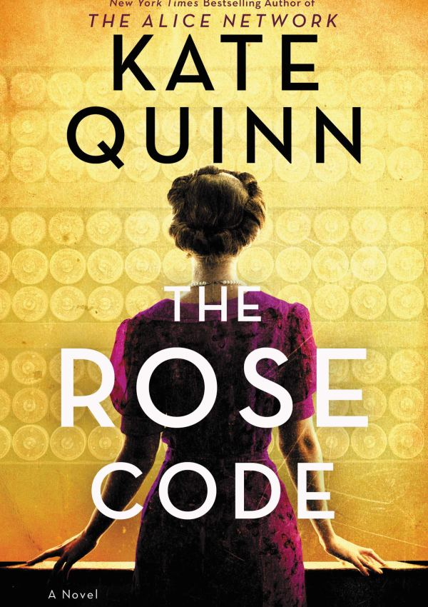 The Rose Code with Author Kate Quinn