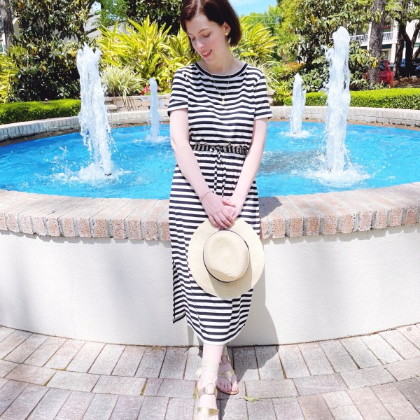 Say it with Stripes // A Beachy Vacation Look