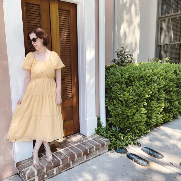 Summoning Summer with the Perfect Flirty Yellow Dress