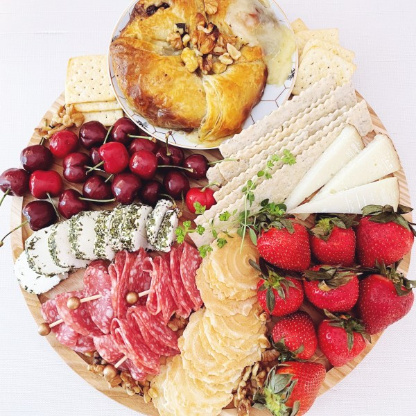 Flavors of Summer Charcuterie Board