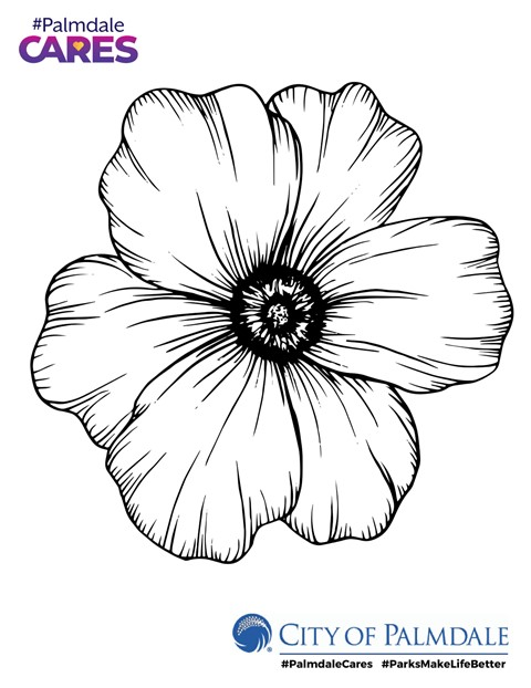 Palmdale to host kids poppy coloring contest