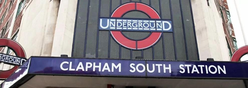 Clapham South underground