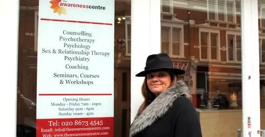 Michaela McCarthy celebrating 10 years at The Awareness Centre
