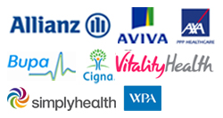 Private healthcare insurance at The Awareness Centre