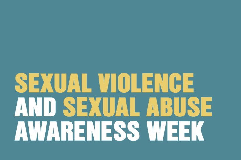 Sexual Violence And Sexual Abuse Awareness Week