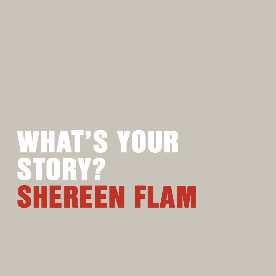 What's your story? Two day workshop with Shereen Flam