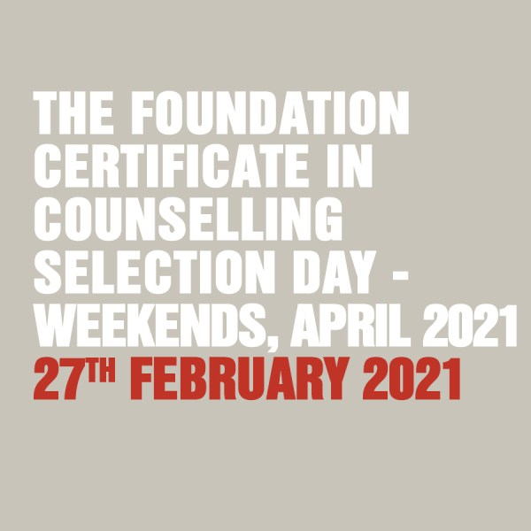 Foundation Certificate 27th February 2021