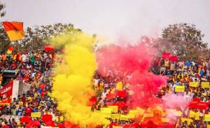 Red & Gold: The East Bengal faithful will hope for a better showing this season Photo Courtesy: @eastbengalfc/Twitter