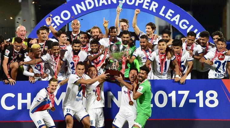 Chennaiyin fc team photo