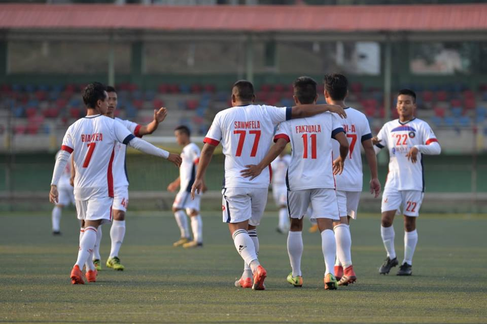 Squad Rules: Mizoram Police FC registered a big win to jump to 3rd place. Photo Courtesy: Mizoram Football Association