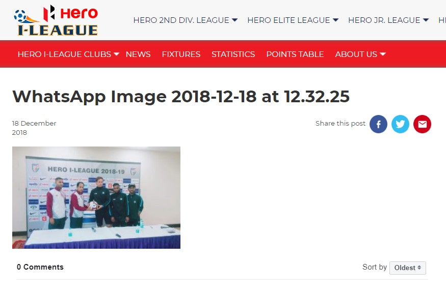 I-League 2018-19