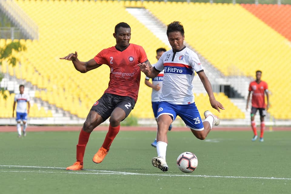 Match between Chhinga Veng FC and Ozone FC in the 2nd Division League Final Round Matchday 4