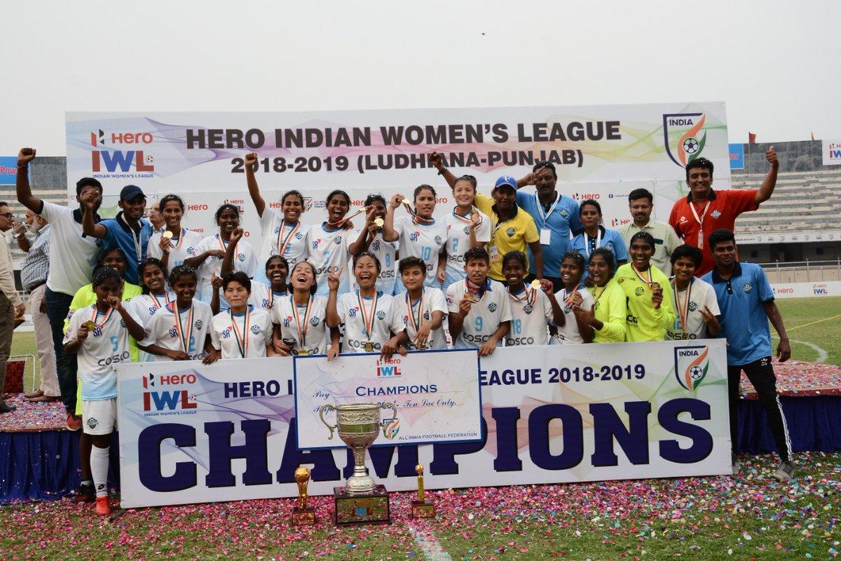 Indian Women's League 2018-19 Champions Sethu FC