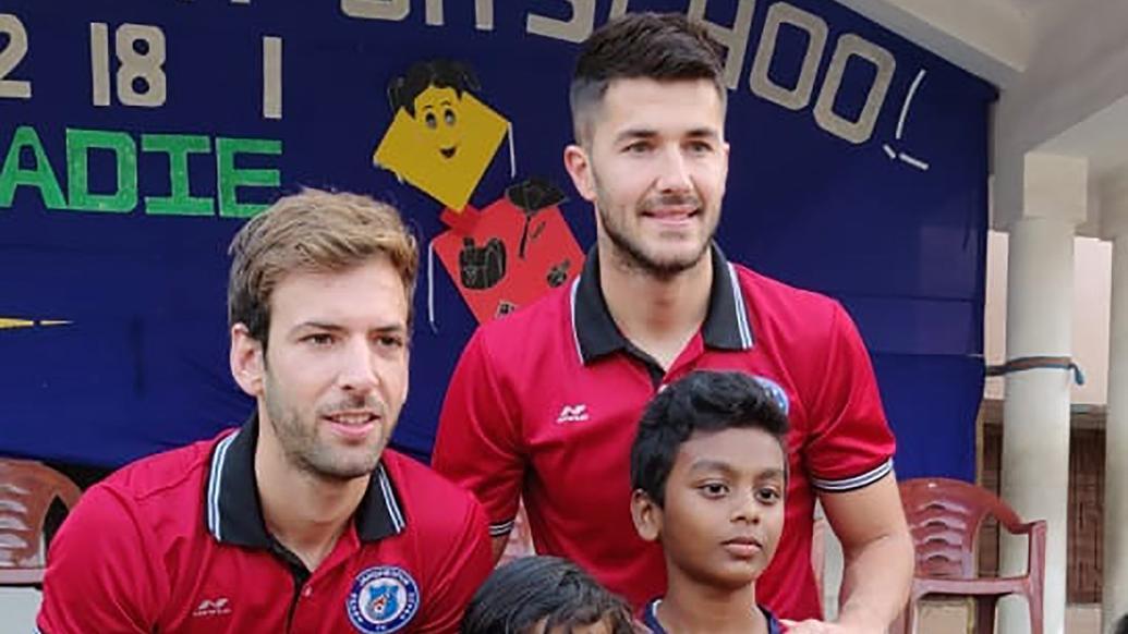 Mario Arqués and Sergio Cidoncha sign for Kerala Blasters FC