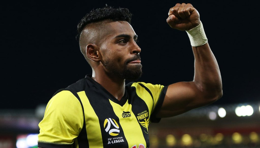Fiji captain and Wellington Phoenix forward Roy Krishna signs for ATK