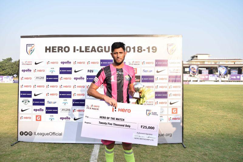 I-League Goalkeeper of the Year Bilal Khan joins Kerala Blasters FC