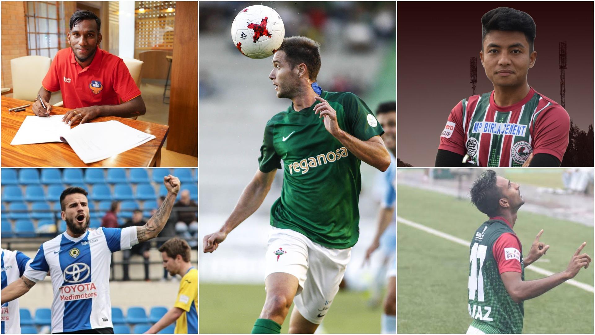 Alexander Romario Jesuraj joins on loan from FC Goa; Spanish midfielders Francisco Javier González Muñoz and Joseba Beitia sign on, and Lalramzauva Khiangte and Sheikh Faiaz make their loan deals permanent.