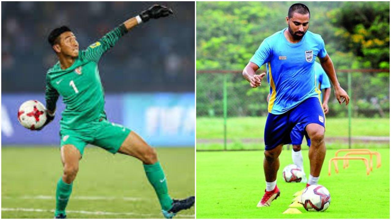 ATK sign goalkeeper Dheeraj Singh Moirangthem and midfielder Sehnaj Singh