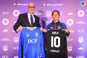 Rangers Women's FC sign Ngangom Bala Devi on an 18 month deal