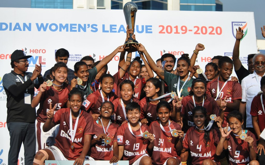 Gokulam Kerala FC are the Indian Women's League 2019-20 Champions