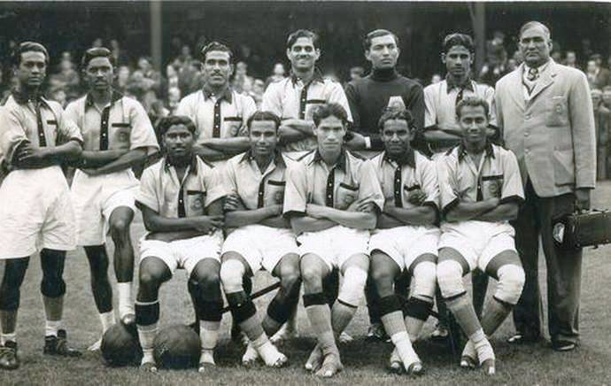 Indian National Football Team at the 1948 London Olympics