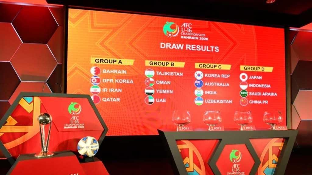 AFC U-16 Championship 2020: India pitted alongside Australia, South Korea and Uzbekistan in Group C