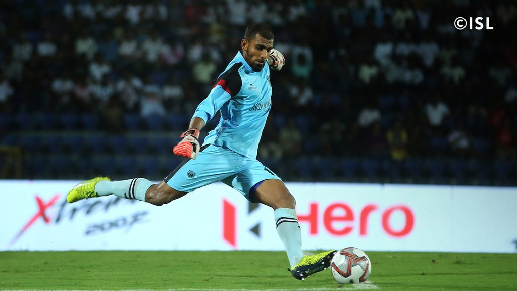 Goalkeeper TP Rehenesh signs for Jamshedpur FC