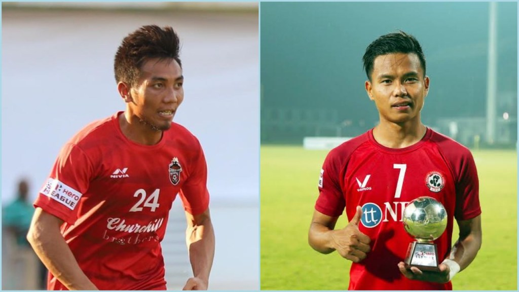 Northeast United FC sign forward Lalkhawpuimawia (Mapuia) and attacking midfielder Rochharzela from Aizawl FC