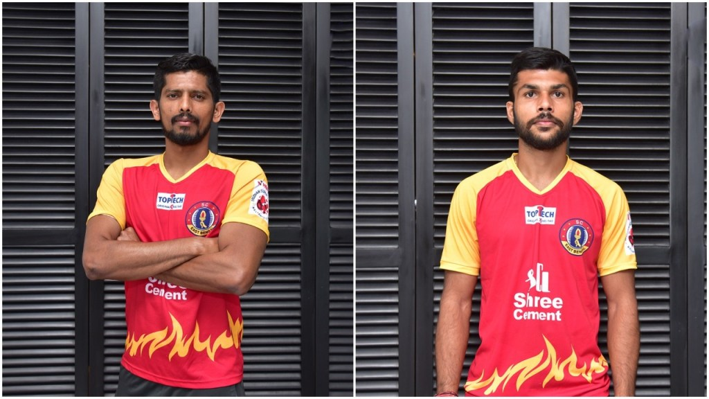 Defenders Raju Gaikwad and Ankit Mukherjee sign with SC East Bengal