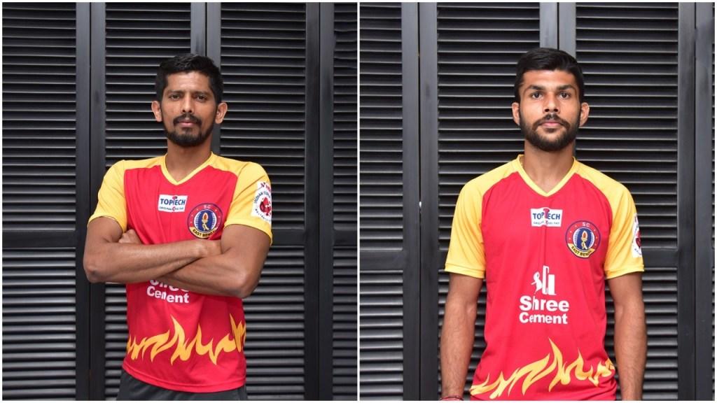 Defenders Raju Gaikwad and Ankit Mukherjee sign with SC East Bengal