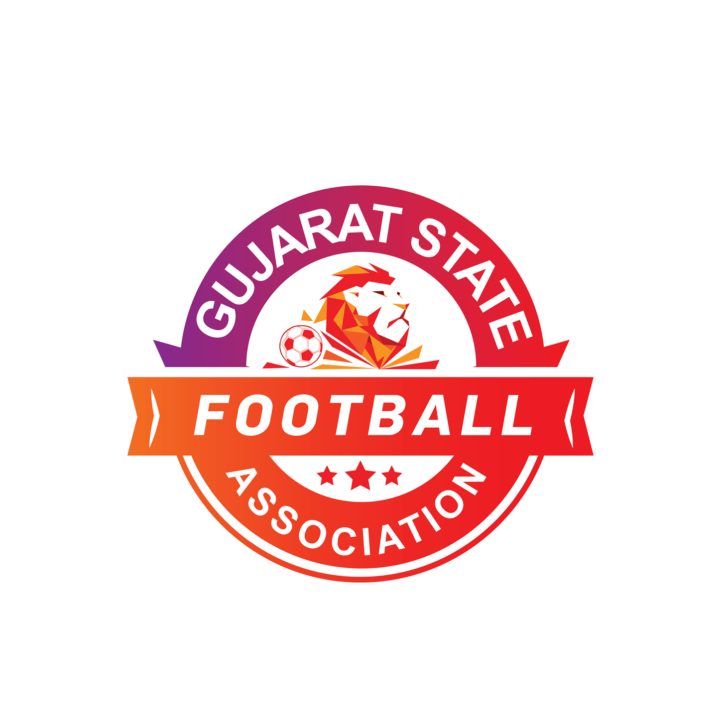 gujarat state football association logo