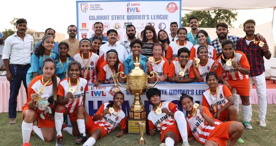 Gujarat State Women's League 2021 Winners King Star FC