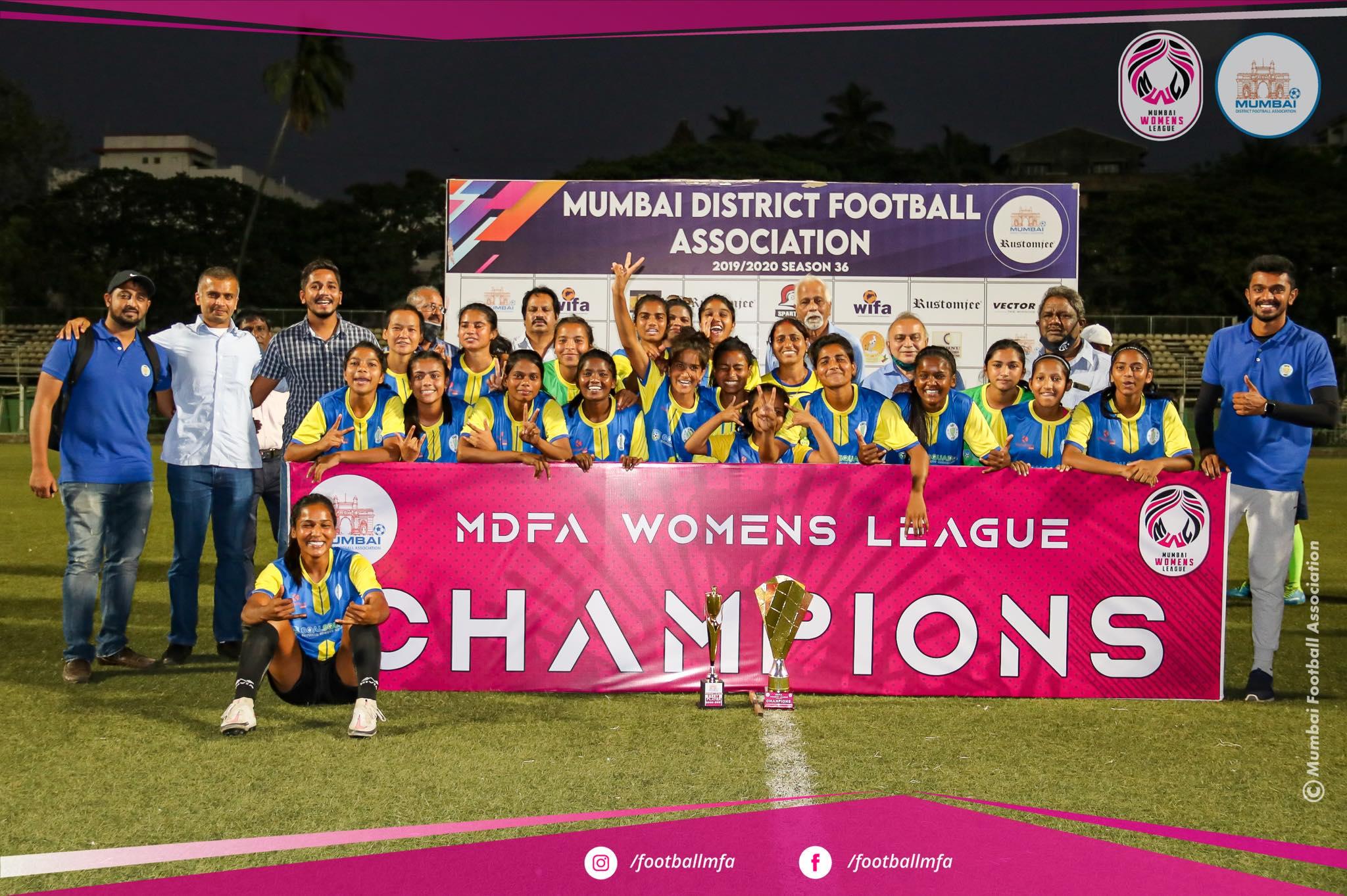 mfa women's league 2020-21 champions footie first