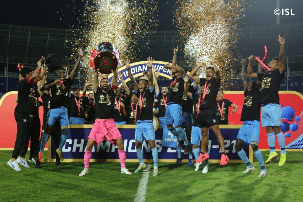 ISL 2020-21 Champions Mumbai City FC