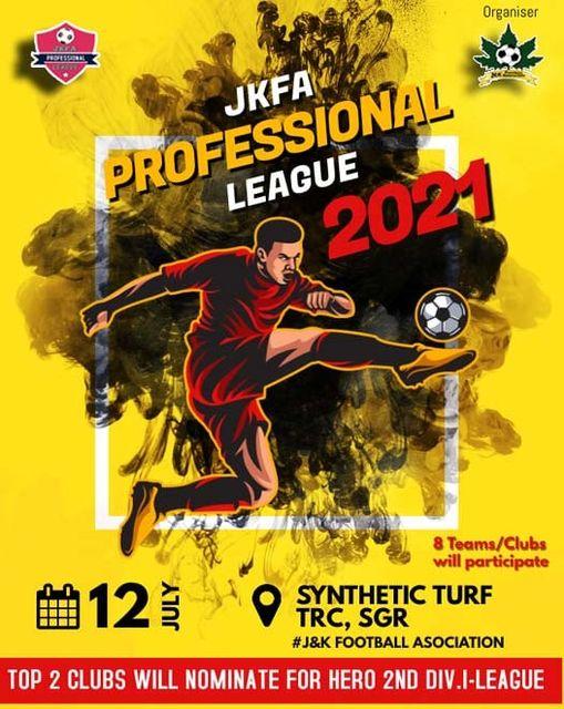 JKFA Professional League 2021