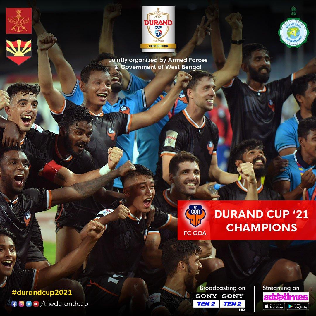 Durand Cup 2021 Winners FC Goa