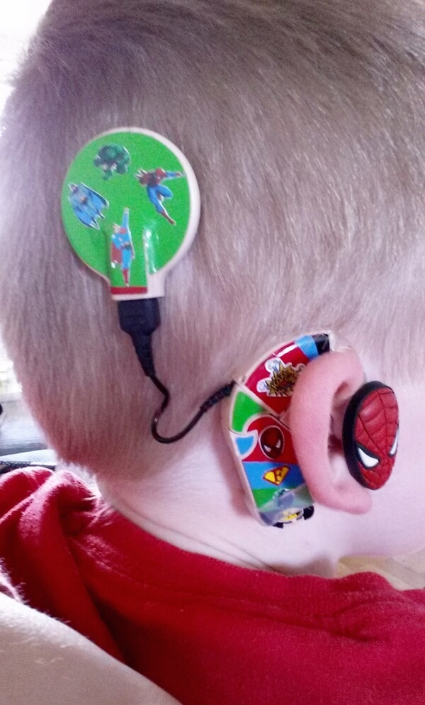 thomas train chair hanging outdoor rattan mom creates awesome superhero hearing aids for kids