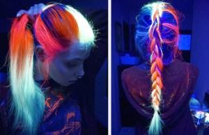 glow in the dark hair 1