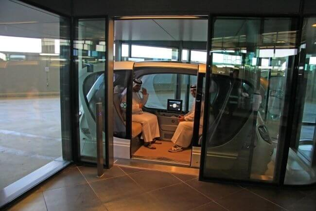 futuristic driverless pods vehicles 7