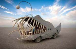 burning man art festival 1