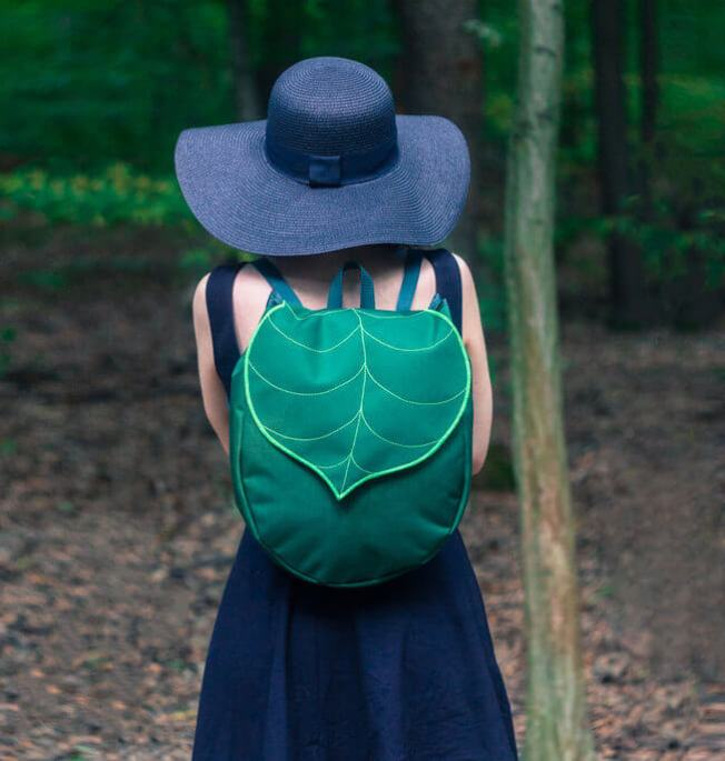 leaf inspired bags 1