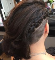 cool undercut hairstyle