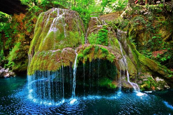 Most Beautiful Waterfall in the World Romania