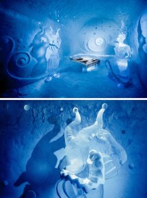 Cold Room Ice Hotel Art Suite 365