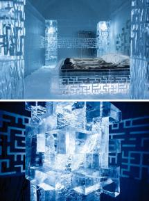 Icehotel 365 In Sweden ' Freezing