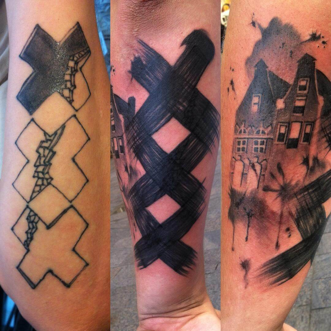 33 Tattoo Cover Ups Designs That Are Way Better Than The ...