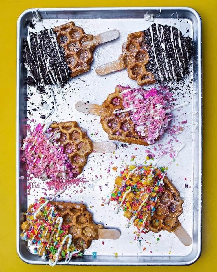 Waffle Pops 13
