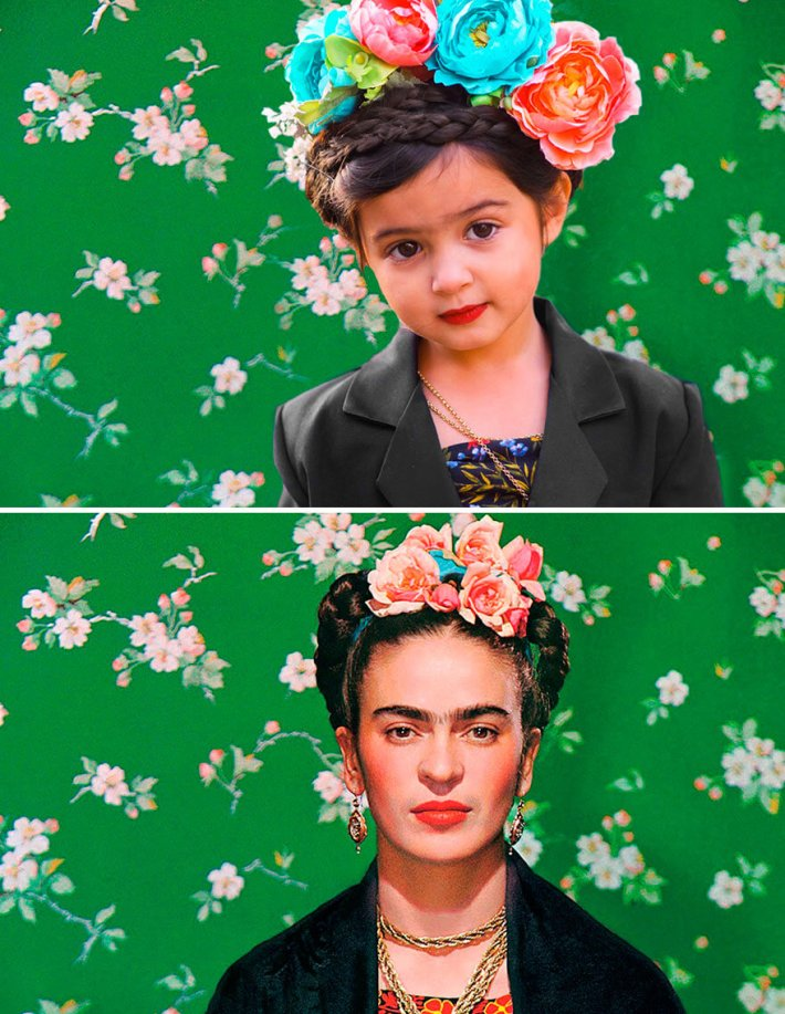 3-Year-Old Dresses Up As Famous Strong Women 7