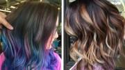 9 brunette hair trends