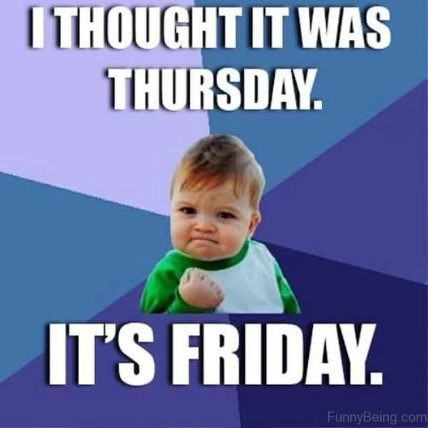 Funny Happy Friday Memes